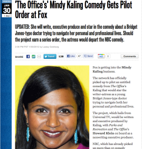 You go Mindy Kaling!